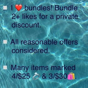 Other - Like + bundle = discount